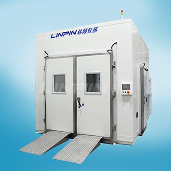 关于上海林频的步入式高低温交变湿热试验室
