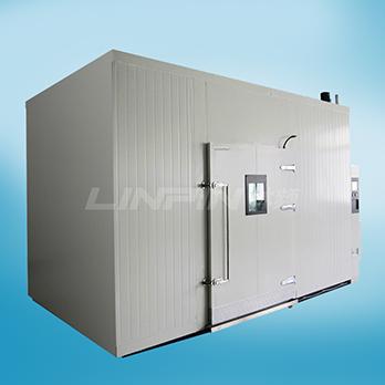 <b>步入式恒温恒湿试验箱的结构与特点 上</b>